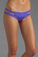 Seamless Cut Away Sides Bottom in Violet