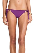 Mouse Fringe MC Bikini Bottom in Grape