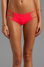 Diamond Spaghetti MC Bikini Bottom in Punch