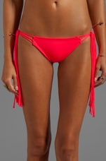 Mouse Fringe MC Bikini Bottom in Punch