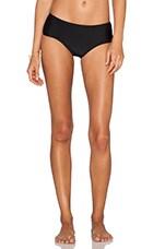 Boyleg Bikini Bottom in Black