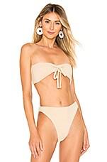 In Your Arms Celestial Bikini Top in Nude