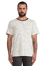 Leo T-Shirt in Mixed Ecru