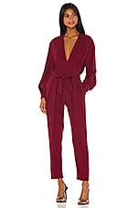 IRO Julliaca Jumpsuit in Hot Pink
