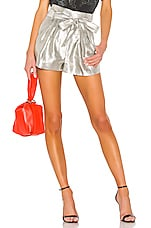 IRO Tentac Shorts in Silver