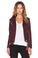 Jone Jacket in Burgundy