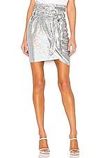 IRO Mahont Skirt in Silver
