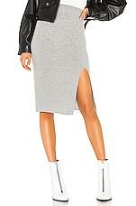 IRO Dorset Skirt in Mixed Grey