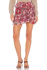 IRO Tingo Skirt in Cranberry