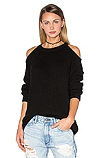 Lineisy Top in Black