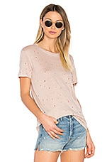 Clay Tee in Pink Sand