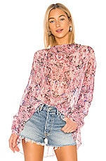 IRO Ipomea Blouse in Pink
