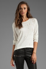 Marvina Tee Shirt en Ecru
