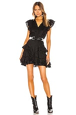 Isabel Marant Etoile Audrey Dress in Black