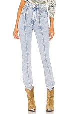 Isabel Marant Etoile Hominy Jean in Lilac