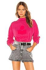 Isabel Marant Etoile Moby Sweatshirt in Neon Pink