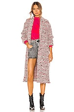 Isabel Marant Etoile Faby Coat in Red