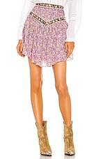 Isabel Marant Etoile Valerie Skirt in Lilac