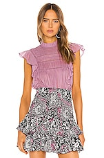 Isabel Marant Etoile Vivia Blouse in Pink