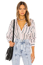 Isabel Marant Etoile Satchell Button Down in Light Pink