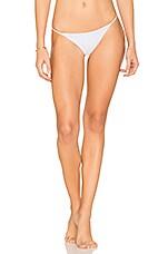 Bondi Bikini Bottom in White