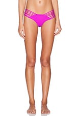 Sunset Bikini Bottom in Berry & Shark