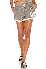 IVY PARK Logo Shorts in Heather Grey