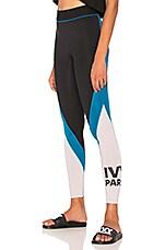 IVY PARK Legging in Black & Lilac