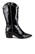 JAGGAR Western Boot in Black