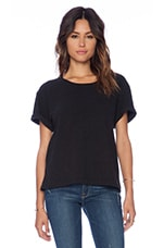 Oversize Heavy Tee in Black
