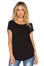 Circular Shell Top en Noir