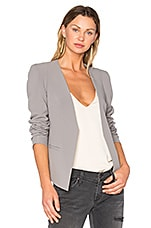 V Boyfriend Blazer in French Grey