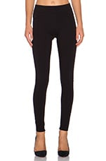 James Twiggy Slip On Legging in Black Ponte