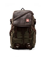 Skip Yowell Collection Pleasanton Backpack en Green Machine