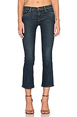 JEAN BOOTCUT CROPPED SKINNY TAILLE MOYENNE SELENA