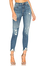 J Brand Alana High Rise Crop Skinny Jean in Ardent