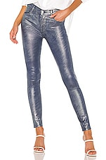 J Brand Maria High Rise Skinny in Indigo Shimmer