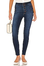 J Brand Natasha Sky High Skinny in Equalize