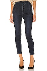 J Brand Natasha Sky High Crop Skinny in Reality