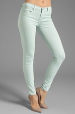 Midrise Power Stretch Super Skinny in Glass