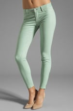 Super Skinny Leather in Mint