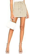 J Brand Talia Skirt in Gibson