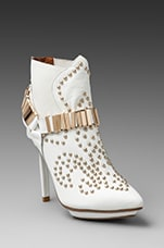 Jeffrey Campbell Volpe Bootie in White
