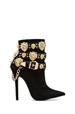 Rokbar Embellished Boot in Black/Gold