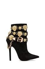 Rokbar Embellished Boot in Black/Gold