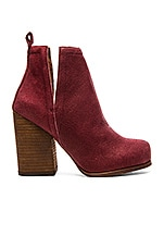 Oshea Bootie in Wine Pebble Numbuck