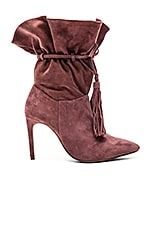 Jeffrey Campbell Pergola Booties in Rose Suede