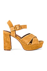 Jeffrey Campbell Amma Platform in Tan Suede