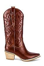 Jeffrey Campbell Dagget Boot in Cognac