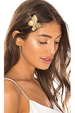 Jennifer Behr Butterfly Bobby Pin in Gold
